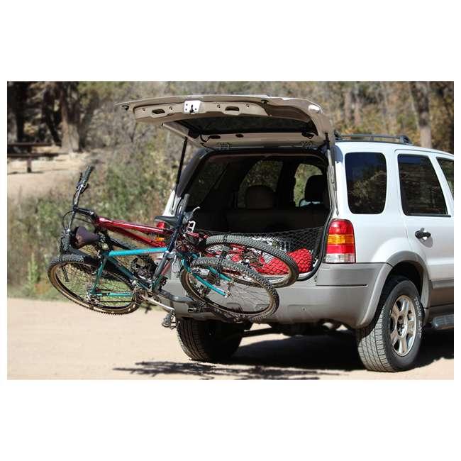 "B01311 Let's Go Aero B01311 5/8"" BikeWing-2 Tilting Two Bike Rack W/ NoMotion Transport 6"