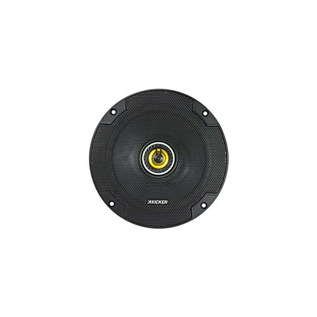 46CSC654 Kicker CS Series 6.5 Inch Car Speaker, Yellow (2 Pack) 4