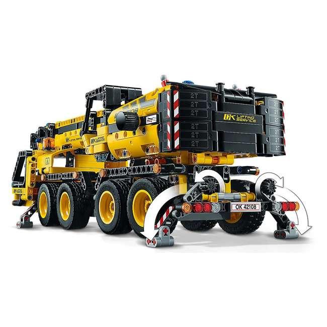 6288778 LEGO Technic 42108 Mobile Construction Crane Vehicle 1292 Piece Building Set 3