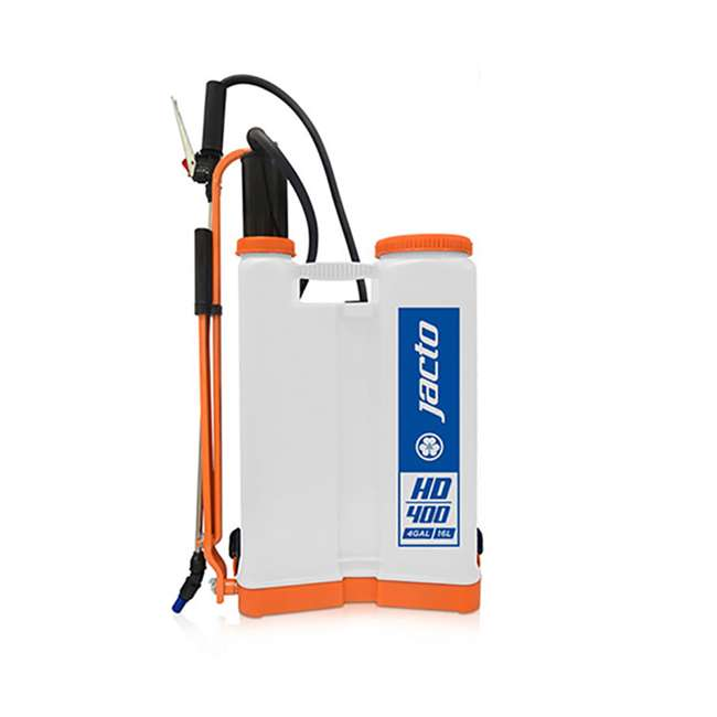 JACTO-1210803 Jacto HD400 Lightweight 4-Gallon Backpack Sprayer
