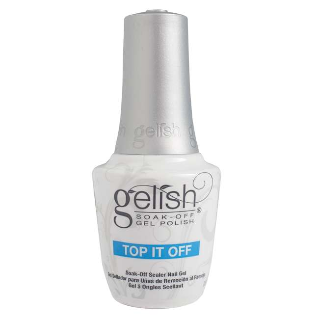 1121503-DYNAMIC + 1900116-6PPACK2 + 1900115-6PACK1 Gelish Base & Top Sealer with Mini Kung Fu Flair and Sassy Intergalactic Glam Polish 4