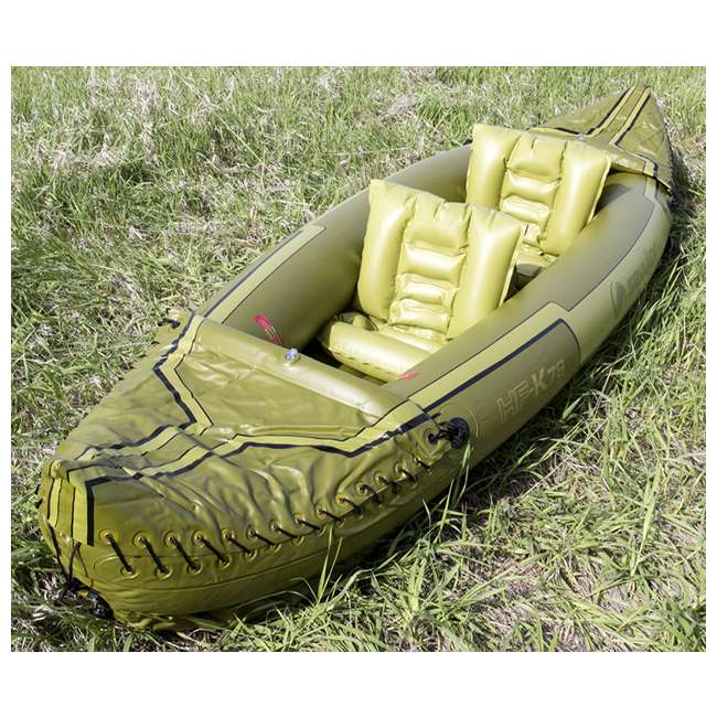 2000010629 Sevylor Tahiti 2-Person Fishing Inflatable Kayak Boat 2