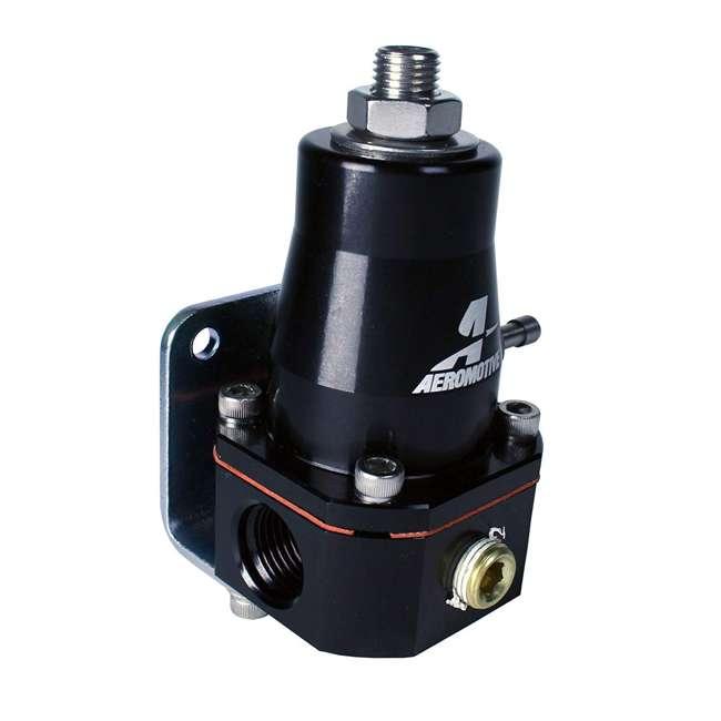 AERO-13136 Aeromotive AERO-13136 Compact Cleaner and Lighter EFI Bypass Regulator, Black 3