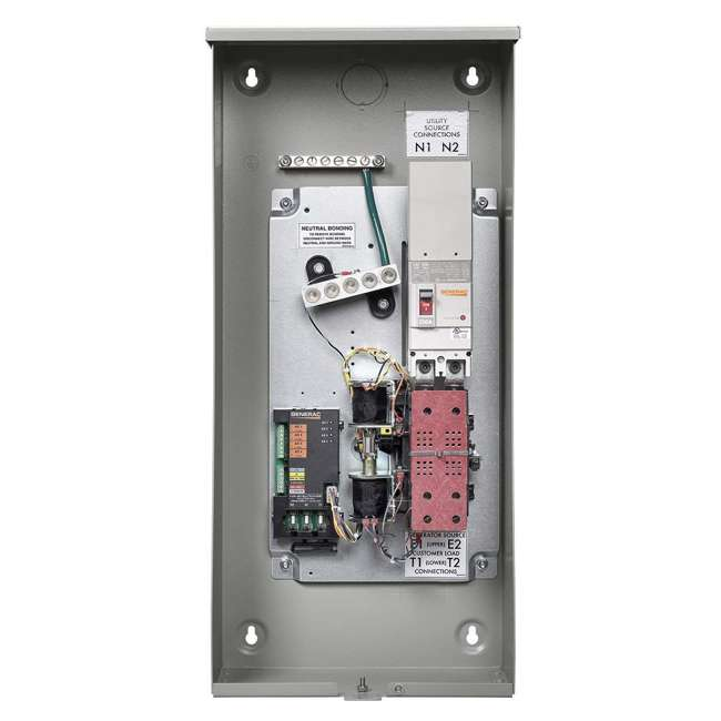 GNRC-RXSW200A3 Generac 200 Amp Single Phase Automatic Smart Transfer Switch 1