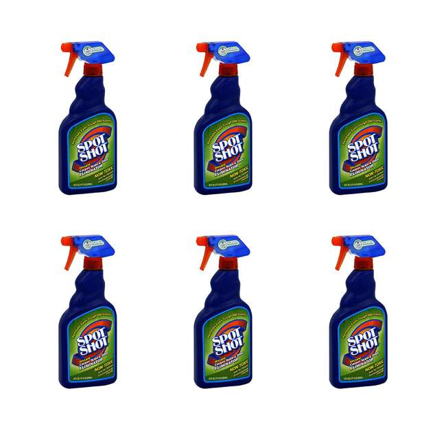6 x WD-009716 Spot Shot Carpet Stain and Odor Eliminator (6 Pack)