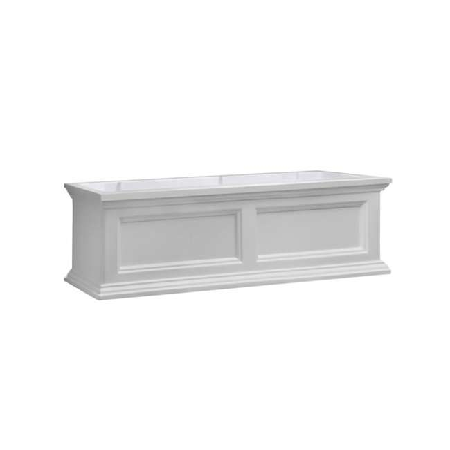 MO-5822-W Mayne Fairfield 2 Ct Windowsill Planter Box Decorative Bracket Supports, White 1