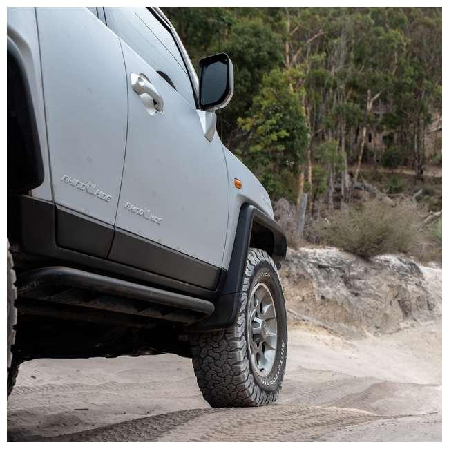 JPJKW2D-RHG Rhinohide Jeep Wrangler JK 2-Door Magnetic Body Armor Panels, Rhinohide Gray 5