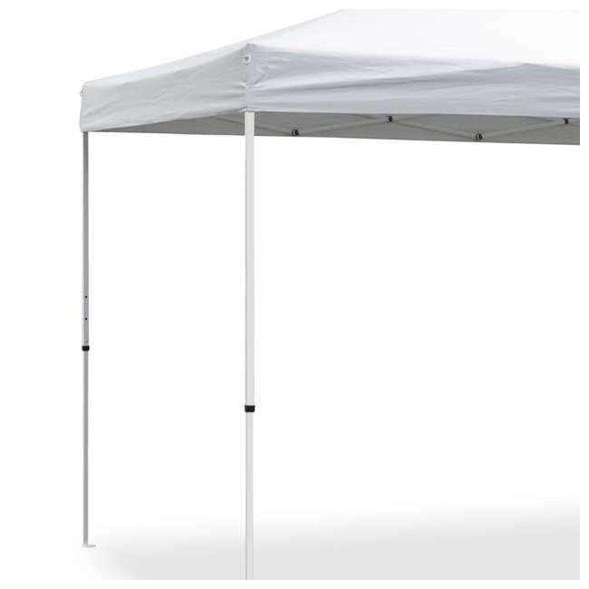 CVAN21007900010-U-A Caravan Canopy Sports V Series 2 Pro 10x10Ft Straight Leg Tent, White (Open Box)