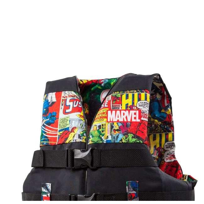 MAR17243LXL Body Glove Marvel Method Life Jacket Vest, Large/X-Large (2 Pack) 4