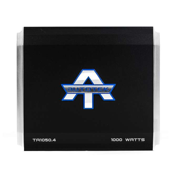 4 x TA1050.4 Autotek TA1050.4 4 Channel 1000W Amp Class A/B Power Amplifier (4 Pack) 2