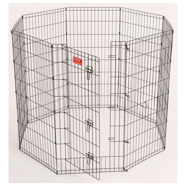 ZW 11648-U-B Lucky Dog 6 Ft Pet Exercise Play Pen for Indoor or Outdoor Use (Used) (2 Pack)
