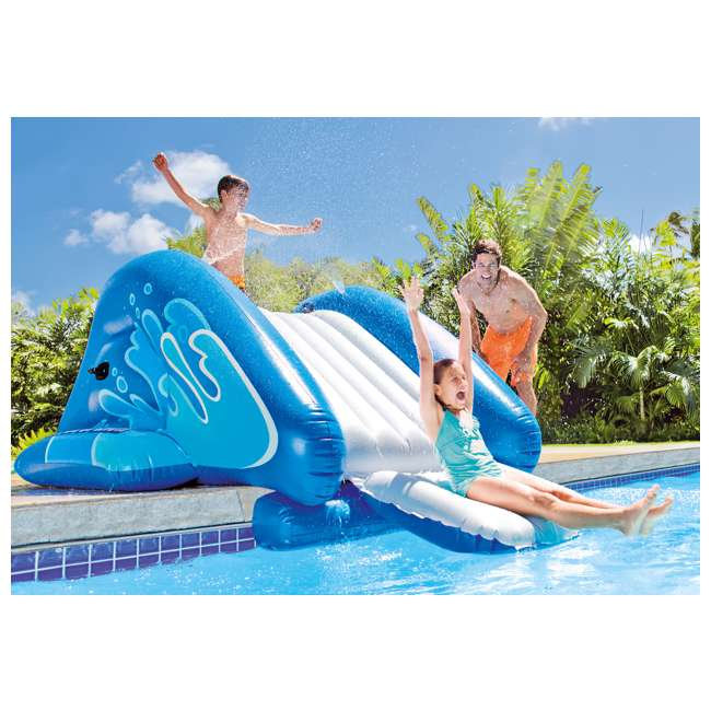 58849EP Intex Kool Splash Inflatable Play Center Swimming Pool Water Slide Accessory 5