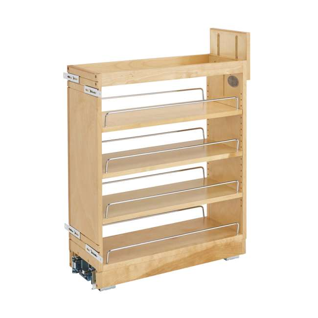 448-BCBBSC-8C Rev-A-Shelf 448-BCBBSC-8C 8 Inch Kitchen Pull Out Cabinet Organizer with Shelves