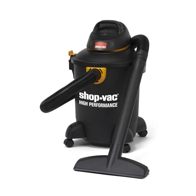 5987000 Shop Vac High Performance Portable 6 Gallon Wet Dry Vacuum Cleaner & Blower 1