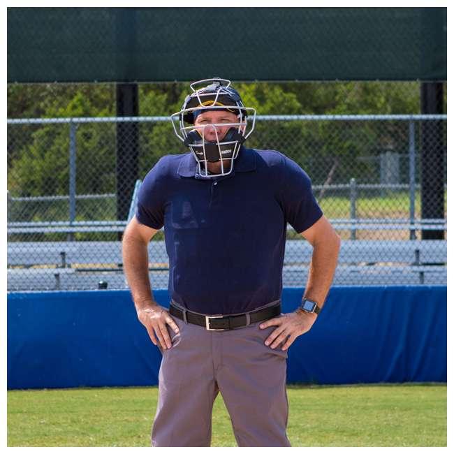 P210 Champion Sports 15 Inch Baseball Outside Shield Umpire Chest Protector, Black 5