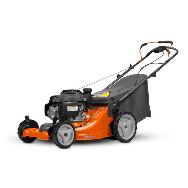 HV-WB-961450036 + HV-TOY-589289601 Husqvarna Walk Behind 21 Inch Self Propelled Gas Mower + Kids Toy Lawn Mower 5