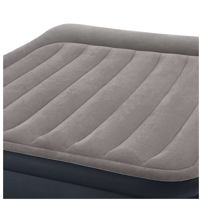 3 x 64135EP Intex Deluxe Raised Air Mattress w/ Built-In Pump, Queen (3 Pack) 2