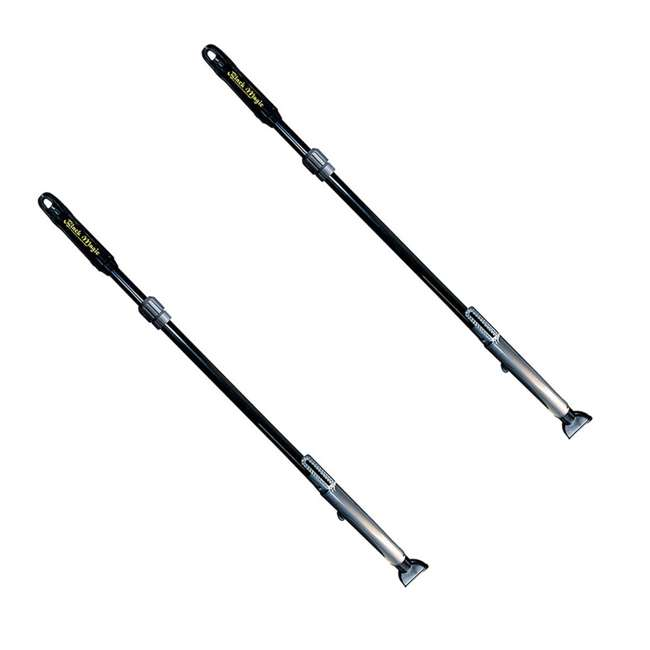 28200 Poolmater Black Magic Cordless Battery-Operated Spa Vac Pole (2 Pack)