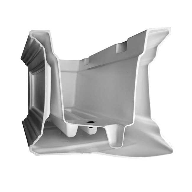 MO-5822-W Mayne Fairfield 2 Ct Windowsill Planter Box Decorative Bracket Supports, White 2