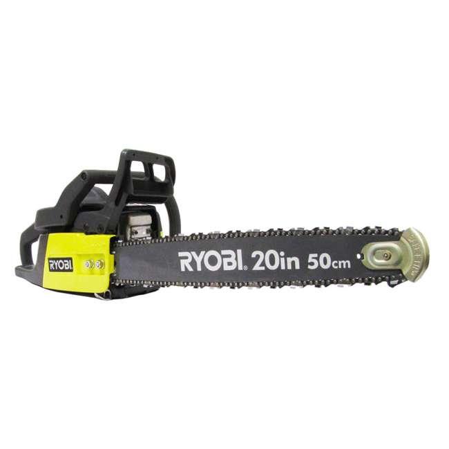 "RY10520-RB Ryobi RY10520 20"" 46cc Gas-Powered 2-Cycle Chainsaw"