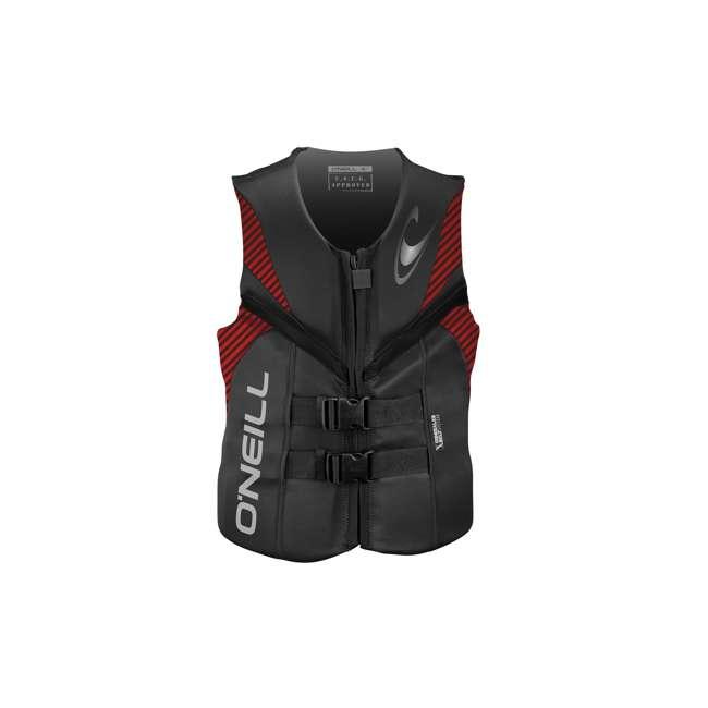 4720-N32-XL Reactor USCG Wakeboarding/Waterskiing Life Vest, XL