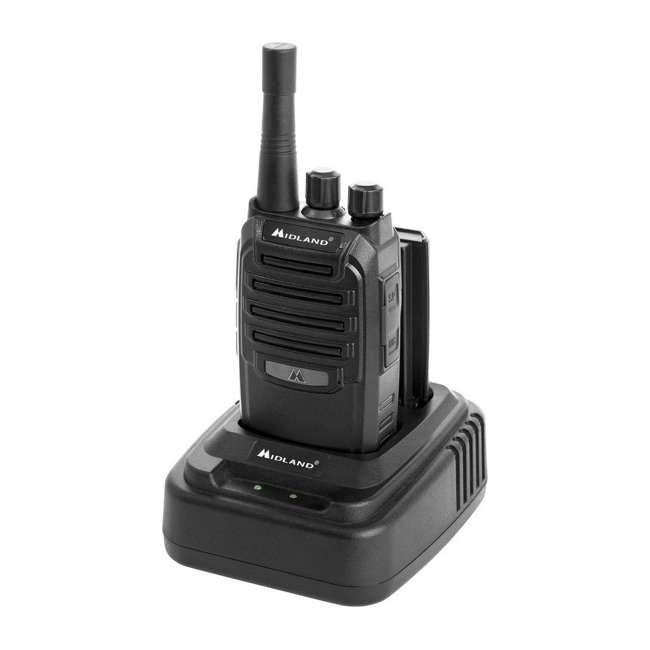 BR200-U-B Midland BizTalk 16 Ch. 2 Way Handheld Walkie Talkie Business Band Radio (Used) 2