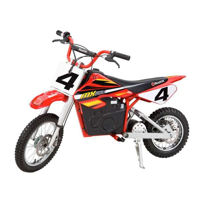 15165010 + 15128190 Razor Electric Dirt Rocket Bikes, 1 Orange & 1 Red 2