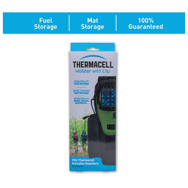 APCL Thermacell Nylon Holster for MR300 & MR4500 Portable Mosquito Repeller, Black 2