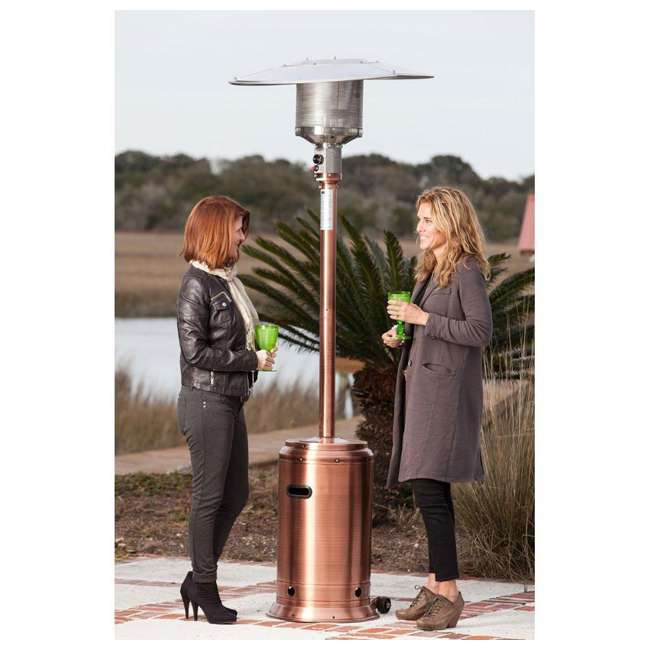 60688 Fire Sense Commercial Patio Heater, Copper Finish 2