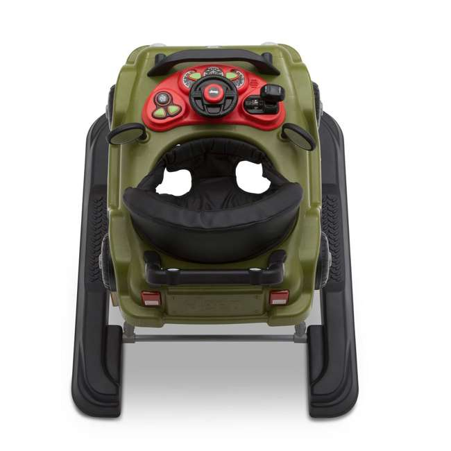22408-348 Jeep Classic Wrangler 3 in 1 Activity Baby Walker & Toy Car, Anniversary Green 1