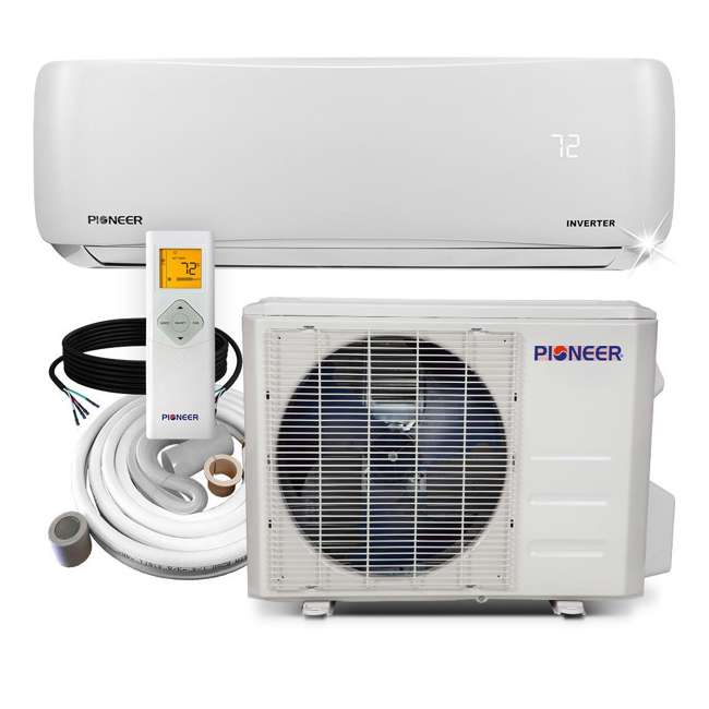 WYS018GMFI19RL Pioneer 18000 BTU 208/230V Ductless Mini Split Air Conditioner Heat Pump System
