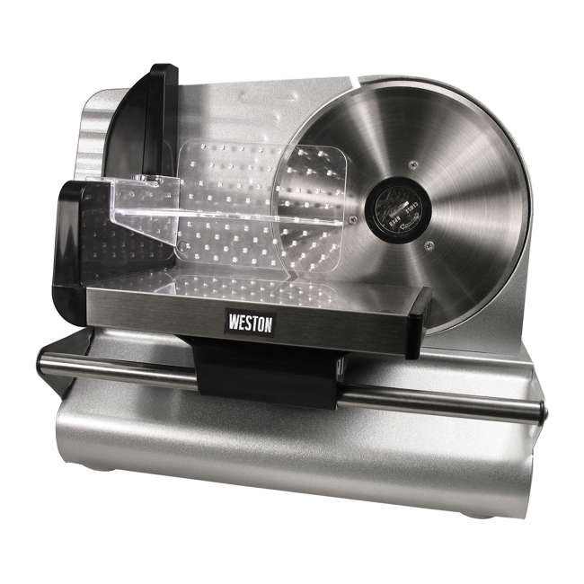 83-0750-W Weston 200 Watt 7.5 Inch ETL Certified Meat Slicer