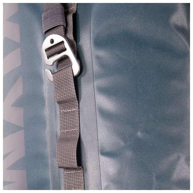 12SPBL01C Klymit 210D Nylon Waterproof Ultra-Lightweight Splash 25 Day Backpack, Blue 5