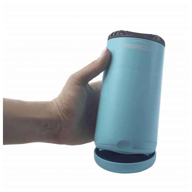 MRPSB Thermacell Outdoor Patio & Camping Shield Mosquito Insect Repeller, Glacial Blue 6