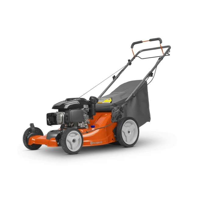 HV-WB-961480061 + HV-TOY-589289601 Husqvarna Front Wheel Drive Self Propelled Gas Lawn Mower + Kids Toy Lawn Mower 4