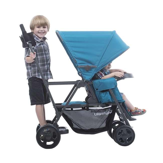JVY-8110 Joovy Caboose Ultralight Lightweight Canopy Stroller, Turquoise 3
