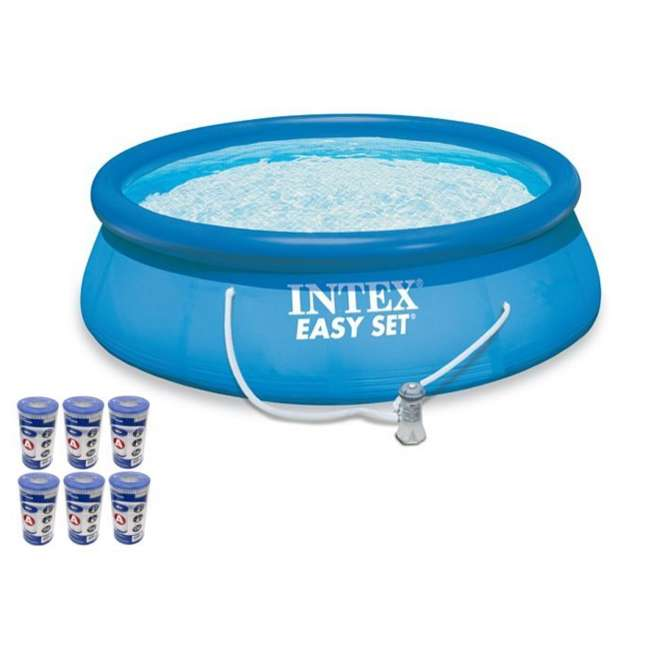 Stunning Intex Easy Set Pool 15 X 48 Pictures - dairiakymber.com ...