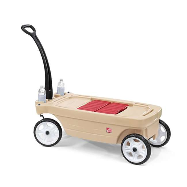 837200-U-A Step2 Whisper Ride Touring Wagon II 3-in-1 Toddler Outdoor Canopy Pull Wagon (Open Box) 2