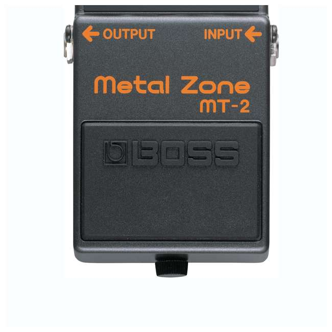 MT-2-OB Boss MT-2 Metal Zone Multi Effects Guitar Pedal Stompbox (Used) 2