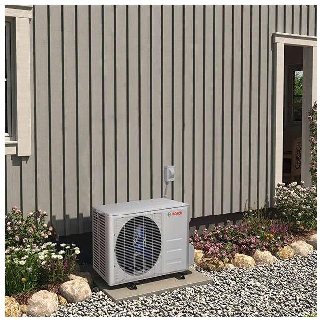 8733942695 + 8733942696 + 8733951010 Bosch Climate 5000 Mini Split Air Conditioner Heat Pump System, 9,000 BTU 230V 3