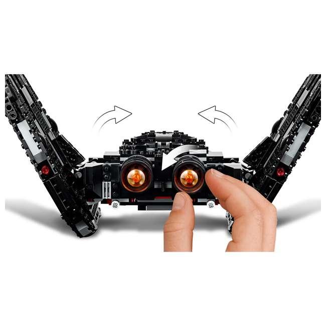 6251767 LEGO 75256 Kylo Ren's Shuttle Block Building Kit w/ 6 Star Wars IX Minifigures 5