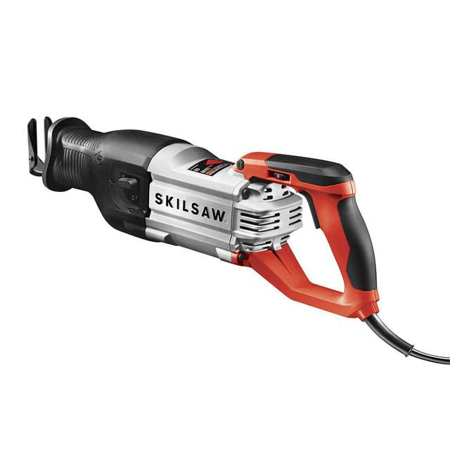 SPT44-10 Skilsaw SPT44-10 15 Amp Corded 1-1/4 Inch Stroke Heavy Duty Reciprocating Saw 2