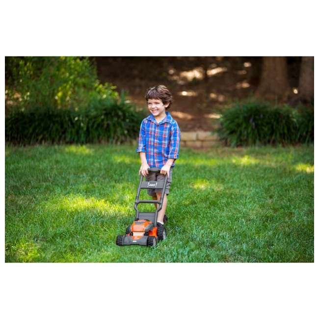 HV-WB-961480062 + HV-TOY-589289601 Husqvarna Walk Behind Mower Electric Start Gas Powered Toy Lawn Mower for Kids 6