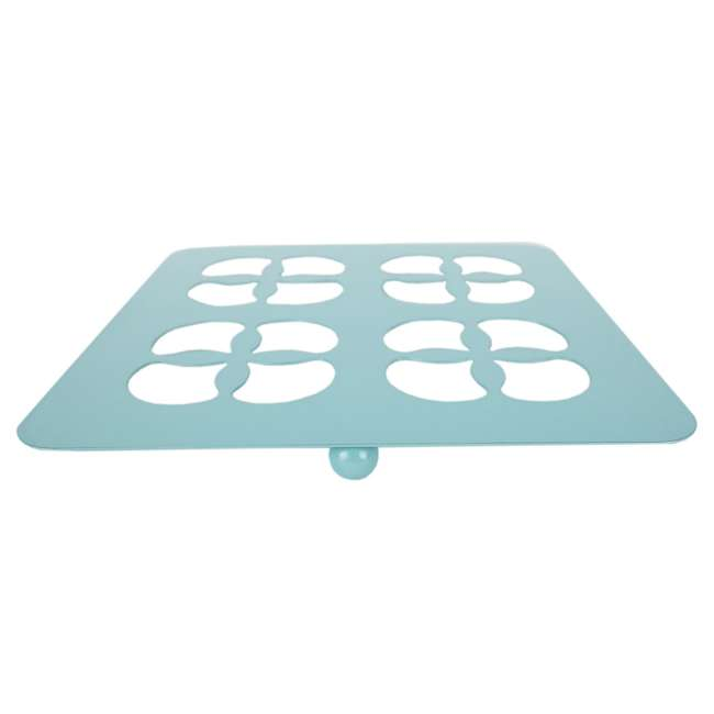 TR47371 Home Basics Protective Steel Trivet For Hot Surfaces, Turquoise 5