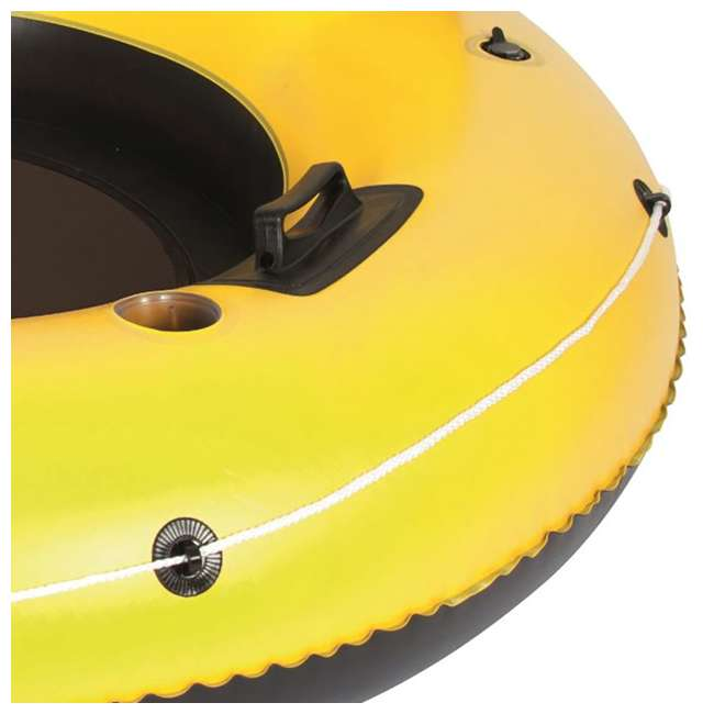 "4 x 43116E Bestway Rapid Rider 53"" Inflatable Raft w/ Handles/Cup Holders (Used) (4 Pack) 2"