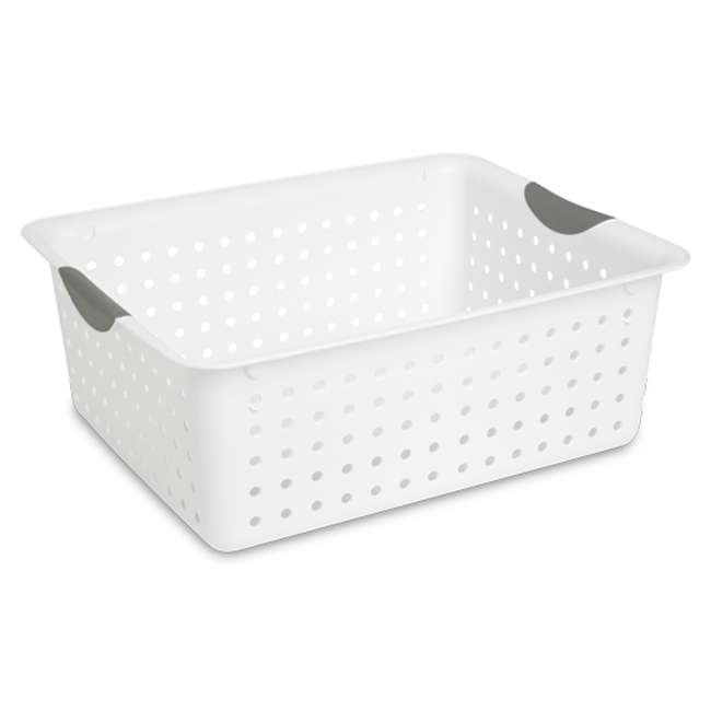 6 x 16288006 + 6 x 16268006 + 12 x 16228012 Sterilite Deep Ultra Storage Basket (6 Pack) + Large (6 Pack) + Small (12 Pack) 6