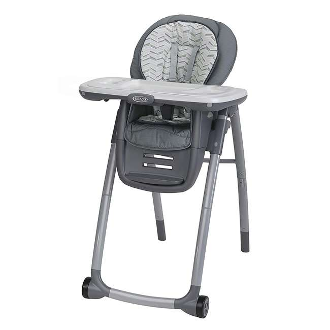 2022439 Graco 2022439 Table2Table Preimier Fold 7 in 1 Adjustable Highchair, Landry Gray