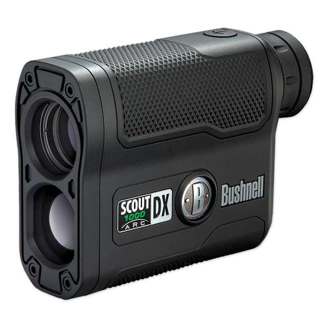 BSHN-202355 Bushnell Scout DX 1000 ARC 1000 Yard Laser Rangefinder, Black