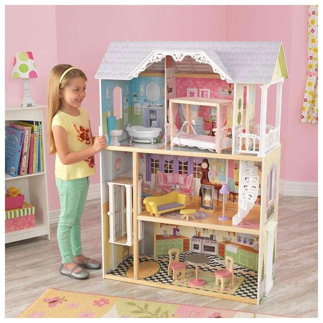 KDK-65869 Kidkraft Kaylee Wooden Dollhouse 1