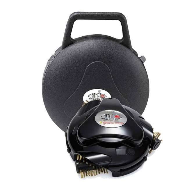 GBU:BUN3:BLACK Grillbot GBU:BUN3:BLACK Automatic Grill Cleaning Robot with Carry Case, Black